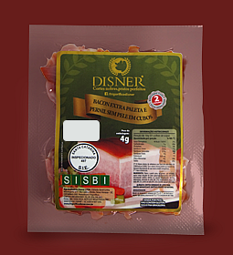 Bacon em Cubos Duas Porções Disner