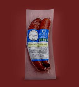 Linguiça de Carne Suína Defumada (cozida) Disner